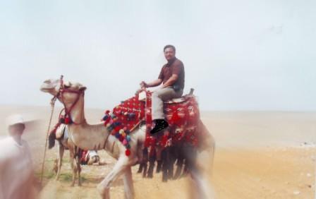 Camel back riding